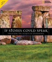 Aronson, Marc; Parker Pearson, Mike - If Stones Could Speak - 9781426305993 - V9781426305993