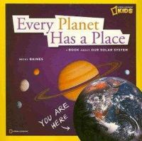 Baines, Becky, National Geographic Kids - Zigzag: Every Planet Has a Place - 9781426306624 - KRA0000099