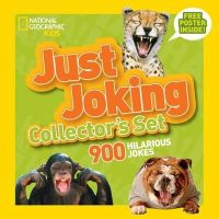 National Geographic Kids - Just Joking Collector's Set (Boxed Set): 900 Hilarious Jokes About Everything - 9781426316142 - V9781426316142