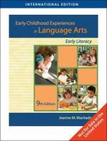 Machado, Jeanne M. - Early Childhood Experiences in Language Arts - 9781439046104 - V9781439046104