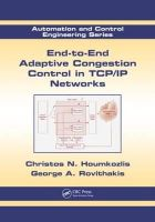Houmkozlis, Christos N., Rovithakis, George A. - End-to-End Adaptive Congestion Control in TCP/IP Networks (Automation and Control Engineering) - 9781439840573 - V9781439840573