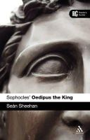 Sheehan, Sean - Sophocles' 'Oedipus the King': A Reader's Guide - 9781441198242 - V9781441198242