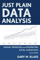 Klass, Gary M. - Just Plain Data Analysis - 9781442215085 - V9781442215085