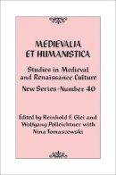 - Medievalia et Humanistica - 9781442243002 - V9781442243002