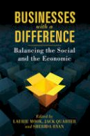 Laurie Mook, Jack Quarter, Sherida Ryan - Business with a Difference: Balancing the Social and the Economic - 9781442642645 - V9781442642645
