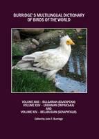 John T. Burridge - Burridge's Multilingual Dictionary of Birds of the World - 9781443821124 - V9781443821124