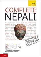 Hutt, Michael; Subedi, Abhi - Teach Yourself Complete Nepali - 9781444101973 - V9781444101973
