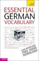 Lisa Kahlen - Teach Yourself Essential German Vocabulary - 9781444103649 - V9781444103649