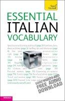 Zollo, Mike - Teach Yourself Essential Italian Vocabulary - 9781444103670 - V9781444103670
