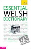 Lewis, Edwin C. - Teach Yourself Essential Welsh Dictionary - 9781444104059 - V9781444104059