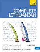 Meilute Ramoniene, Virginija Stumbriene - Complete Lithuanian. by Meilute Ramoniene and Virginija Stumbriene (Teach Yourself Complete Courses) - 9781444106893 - V9781444106893