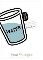 Younger, Paul - Water - All That Matters (Teach Yourself: Reference) - 9781444156812 - V9781444156812