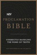 New International Version - NIV Proclamation Bible - 9781444745610 - V9781444745610