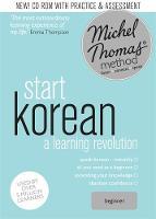 Kiaer, Jieun, Flint, Hugh - Start Korean with the Michel Thomas Method - 9781444798807 - V9781444798807