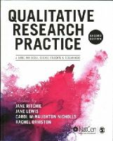 Ritchie, Jane - Qualitative Research Practice - 9781446209127 - V9781446209127