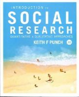 Punch, Keith F. - Introduction to Social Research - 9781446240939 - V9781446240939