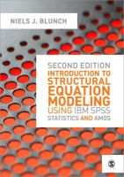 Blunch, Niels - Introduction to Structural Equation Modeling Using IBM SPSS Statistics and AMOS - 9781446249000 - V9781446249000