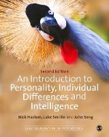 Haslam, Nick, Smillie, Luke, Song, John - An Introduction to Personality, Individual Differences and Intelligence (SAGE Foundations of Psychology series) - 9781446249635 - V9781446249635