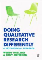 Hollway, Wendy; Jefferson, Tony - Doing Qualitative Research Differently - 9781446254929 - V9781446254929