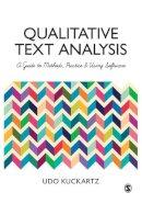 Kuckartz, Udo - Qualitative Text Analysis - 9781446267752 - V9781446267752
