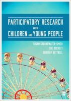 Groundwater-Smith, Susan, Dockett, Sue, Bottrell, Dorothy - Participatory Research with Children and Young People - 9781446272879 - V9781446272879