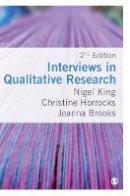 King, Nigel, Horrocks, Christine, Brooks, Joanna - Interviews in Qualitative Research - 9781446274965 - V9781446274965