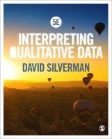 Silverman, David - Interpreting Qualitative Data - 9781446295434 - V9781446295434