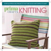 F&W Media International LTD - Prima Crafts Knitting: Over 25 Appealing Projects That are Quick and Simple to Knit for Yourself or for Others - 9781446303894 - V9781446303894
