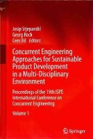 - Concurrent Engineering Approaches for Sustainable Product Development in a Multi-Disciplinary Environment - 9781447144250 - V9781447144250
