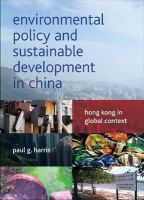 Harris, Paul G. - Environmental Policy and Sustainable Development in China - 9781447305071 - V9781447305071