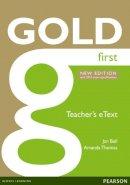Bell, Jan, Thomas, Ms Amanda - Gold First New Edition eText Teacher CD-ROM - 9781447907121 - V9781447907121