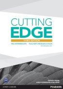 Greene, Stephen - Cutting Edge Pre-Intermediate Teacher's Book and Teacher's Resource Disk Pack - 9781447936930 - V9781447936930