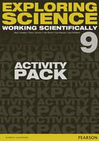 Johnson, P., Kearsey, Susan, Brand, Iain, Robilliard, Sue, Levesley, Mark - Exploring Science: Working Scientifically Activity Pack Year 9 (Exploring Science 4) - 9781447959410 - V9781447959410