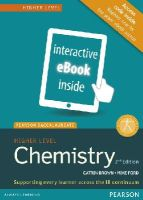 Unknown - PEARSON BACCALAUREATE CHEMISTRY HIGHER L - 9781447959762 - V9781447959762