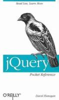 Flanagan, David - jQuery Pocket Reference - 9781449397227 - V9781449397227