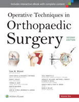 - Operative Techniques in Orthopaedic Surgery (Four Volume Set) - 9781451193145 - V9781451193145