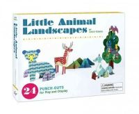 Junzo Terada - Little Animal Landscapes: 24 Punch-Outs for Play and Display - 9781452128979 - V9781452128979