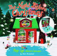 Chronicle Books - The Night Before Christmas Pop-Up Advent Calendar - 9781452129044 - V9781452129044