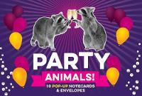 Chronicle Books - Party Animals! 10 Pop-Up Notecards & Envelopes - 9781452151649 - V9781452151649