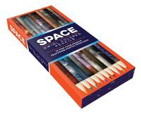 Chronicle Books - Space Swirl Colored Pencils: 10 two-tone pencils featuring photos from NASA - 9781452160986 - V9781452160986