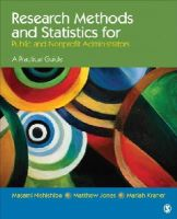 Nishishiba, Masami; Jones, Matthew A.; Kraner, Mariah A. - Research Methods and Statistics for Public and Nonprofit Administrators - 9781452203522 - V9781452203522