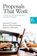 Locke, Lawrence F.; Spirduso, Waneen Wyrick; Silverman, Stephen J. - Proposals That Work - 9781452216850 - V9781452216850