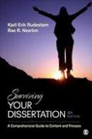 Rudestam, Kjell E. (Erik), Newton, Rae R. - Surviving Your Dissertation: A Comprehensive Guide to Content and Process - 9781452260976 - V9781452260976