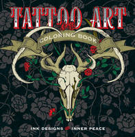 Lark Crafts - Tattoo Art Coloring Book: Ink Designs for Inner Peace (Serene Coloring) - 9781454709695 - V9781454709695