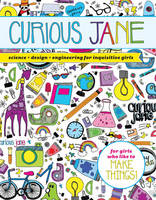 Sterling Children's - Curious Jane: Science + Design + Engineering for Inquisitive Girls - 9781454922353 - V9781454922353