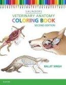 Saunders - Veterinary Anatomy Coloring Book, 2e - 9781455776849 - V9781455776849