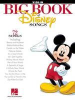 Various - The Big Book of Disney Songs - Violin - 9781458411389 - V9781458411389