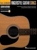 Hal Leonard Corp. - Fingerstyle Guitar Songs: Hal Leonard Guitar Method Supplement (Hal Leonard Guitar Method (Songbooks)) - 9781458423696 - V9781458423696