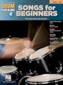Hal Leonard Corp. - Songs for Beginners: Drum Play-Along Volume 31 - 9781458497314 - V9781458497314