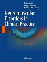 - Neuromuscular Disorders in Clinical Practice - 9781461465669 - V9781461465669
